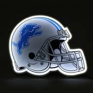 Detroit Lions Football Helmet LED Lamp