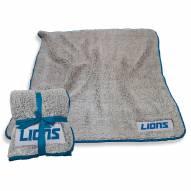 Detroit Lions Frosty Fleece Blanket