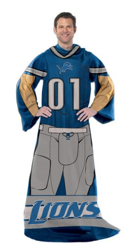 Detroit Lions Full Body Comfy Throw Blanket