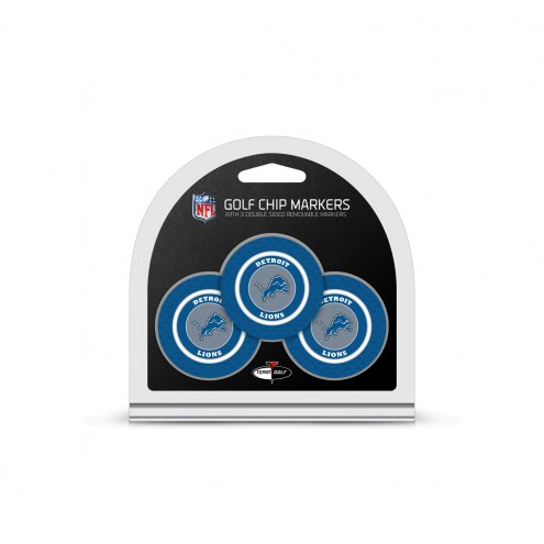 Detroit Lions Golf Chip Ball Markers