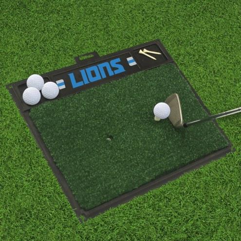 Detroit Lions Golf Hitting Mat