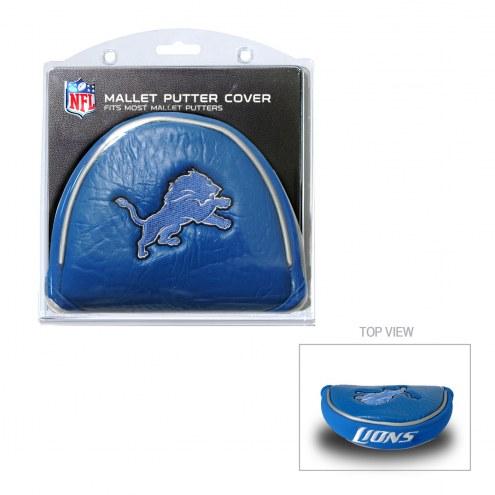 Detroit Lions Golf Mallet Putter Cover