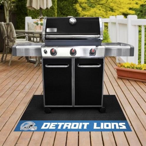 Detroit Lions Grill Mat