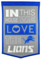 Detroit Lions Home Banner