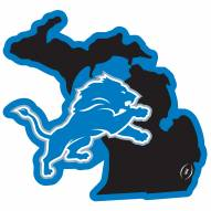 "Detroit Lions Home State 11"""" Magnet"