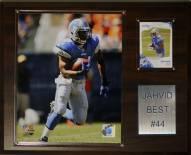 """Detroit Lions Jahvid Best 12 x 15"""" Player Plaque"""