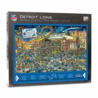 Detroit Lions Joe Journeyman Puzzle