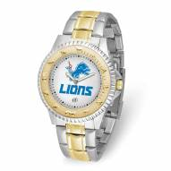 Detroit Lions Competitor Two-Tone Men's Watch