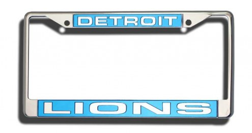 Detroit Lions Laser Cut License Plate Frame