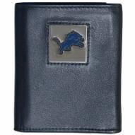 Detroit Lions Leather Tri-fold Wallet