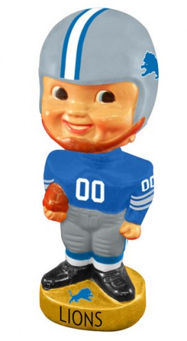 Detroit Lions Legacy Football Bobble Head