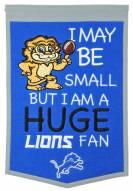 Detroit Lions Lil Fan Traditions Banner