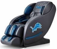 Detroit Lions Luxury Zero Gravity Massage Chair
