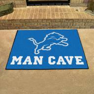 Detroit Lions Man Cave All-Star Rug