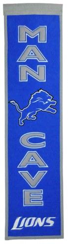 Detroit Lions Man Cave Banner