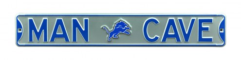 Detroit Lions Man Cave Street Sign