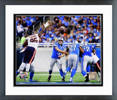 Detroit Lions Matthew Stafford Action Framed Photo