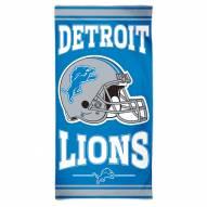 Detroit Lions McArthur NFL Beach Towel
