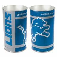 Detroit Lions Metal Wastebasket