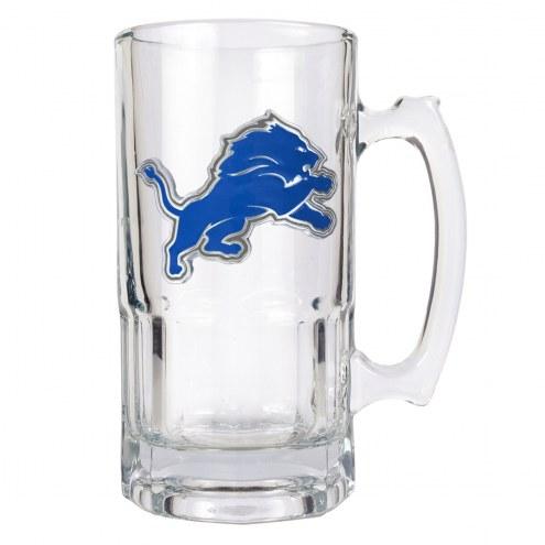 Detroit Lions NFL 1 Liter Glass Macho Mug