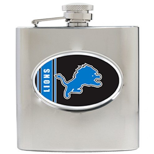Detroit Lions NFL 6 Oz. Stainless Steel Hip Flask