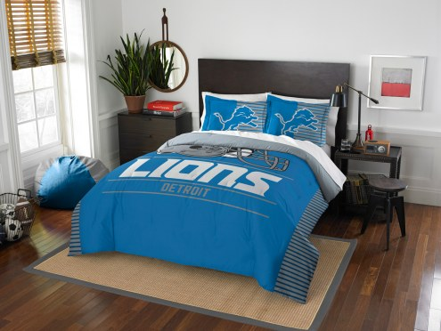 Detroit Lions Draft Full/Queen Comforter Set