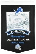Detroit Lions NFL Ford Field Stadium Banner