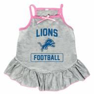 Detroit Lions NFL Gray Dog Dress