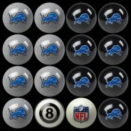 Detroit Lions NFL Home vs. Away Pool Ball Set