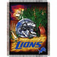 Detroit Lions NFL Woven Tapestry Throw
