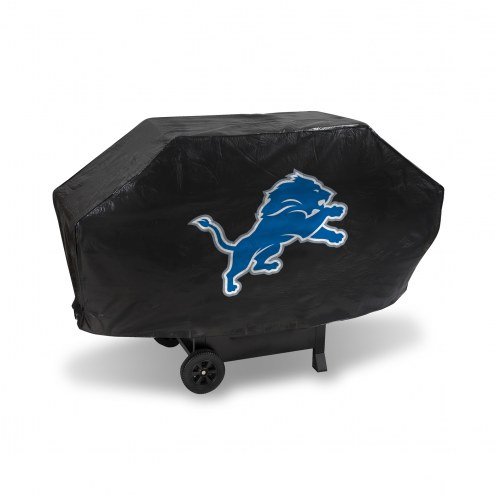 Detroit Lions Padded Grill Cover