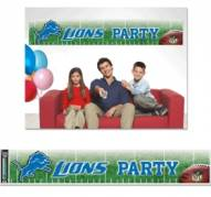 Detroit Lions Party Banner