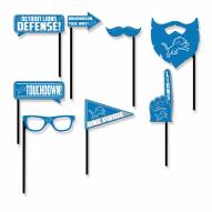 Detroit Lions Party Props Selfie Kit