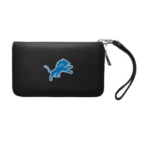 Detroit Lions Pebble Organizer Wallet