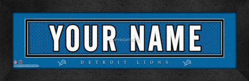 Detroit Lions Personalized Stitched Jersey Print