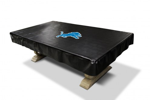 Detroit Lions Pool Table Cover