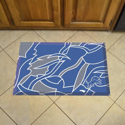 Detroit Lions Quicksnap Scraper Door Mat