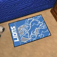 Detroit Lions Quicksnap Starter Rug