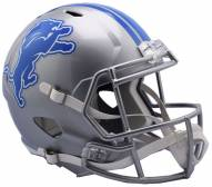Detroit Lions Riddell Speed Collectible Football Helmet
