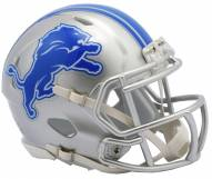 Detroit Lions Riddell Speed Mini Collectible Football Helmet