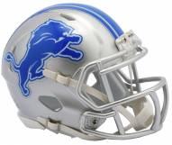 Detroit Lions Riddell Speed Mini Collectible Football Helmet