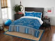 Detroit Lions Rotary Queen Bed in a Bag Set