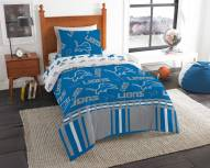 Detroit Lions Rotary Twin Bed in a Bag Set