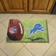 Detroit Lions Scraper Door Mat