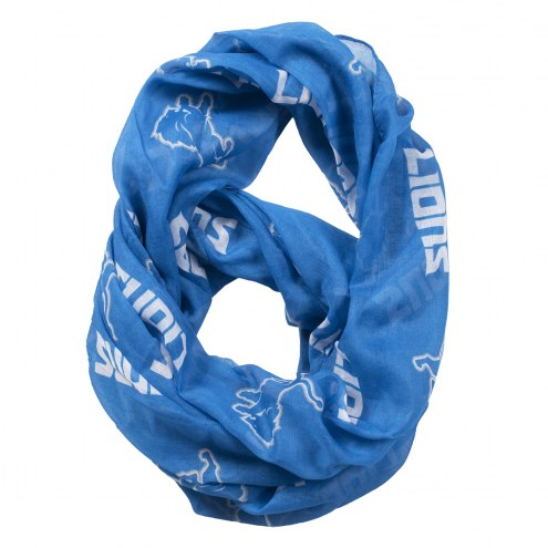 Detroit Lions Sheer Infinity Scarf