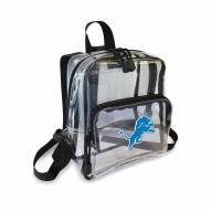 Detroit Lions Stadium Friendly Clear Mini Backpack