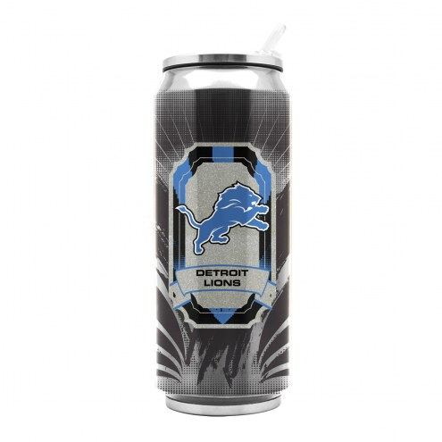 Detroit Lions Stainless Steel Thermo Can