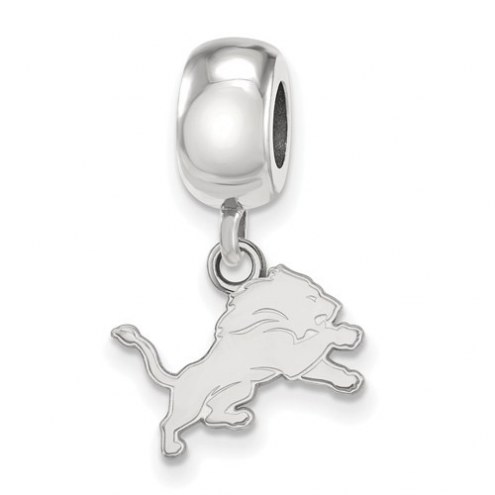 Detroit Lions Sterling Silver Extra Small Dangle Bead Charm