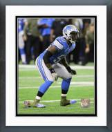 Detroit Lions Tahir Whitehead Action Framed Photo