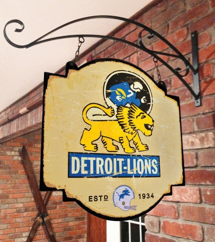 Detroit Lions Tavern Sign